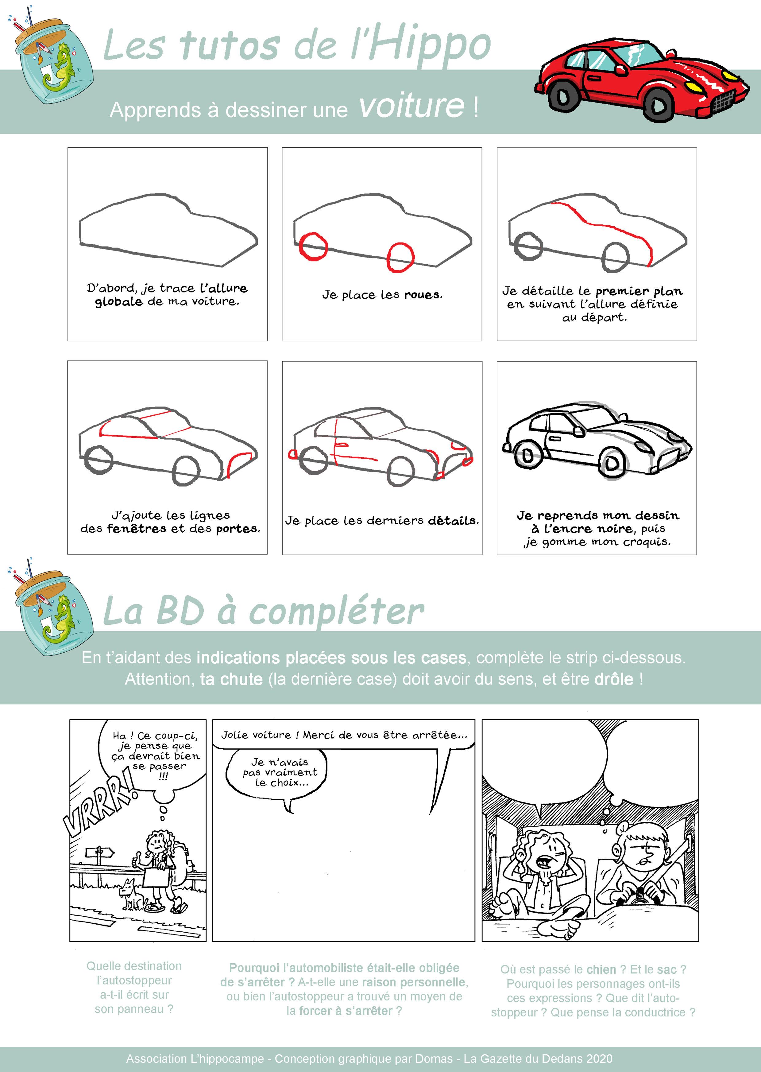 Dessiner une auto