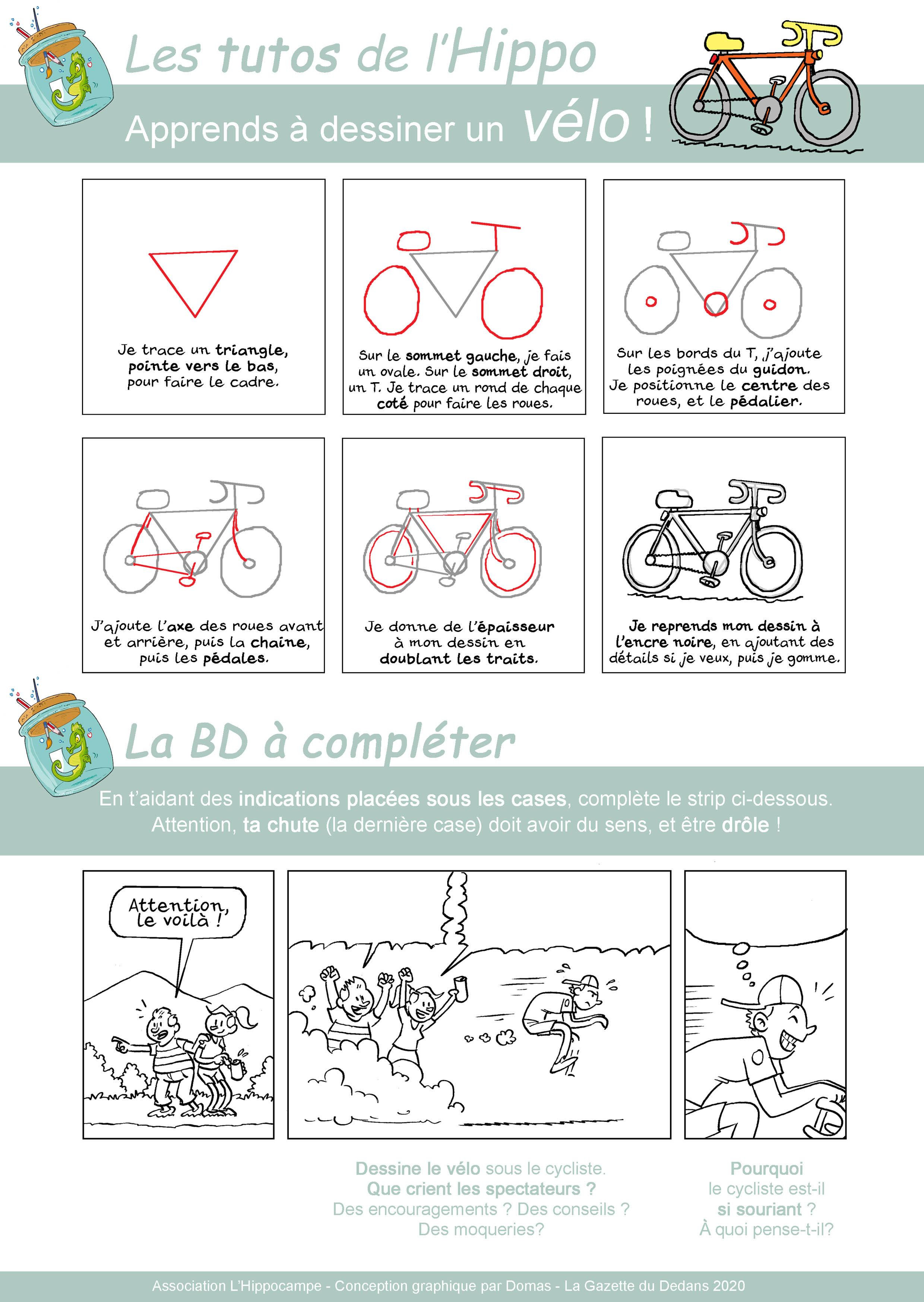 Dessiner un vélo